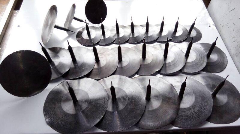 Грибки для ремонта шин большегрузной техники