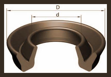 Манжеты уплотнительные резиновые для гидравлических устройств (Манжеты воротниковые)